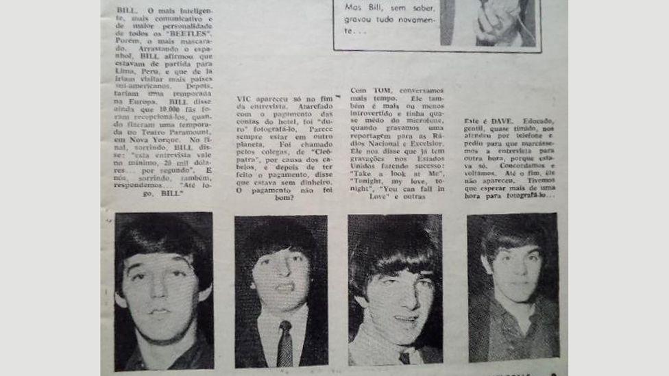 South American press coverage of the band was unforgiving (Credit: Fernando Perez)