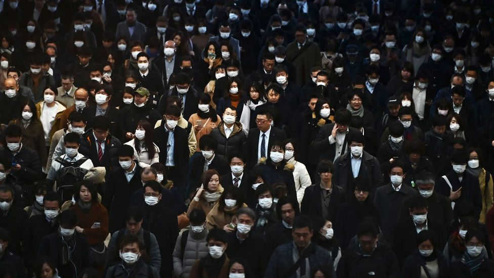 Our busy, modern crowded cities are the perfect places for viruses to spread (Credit: Getty Images)