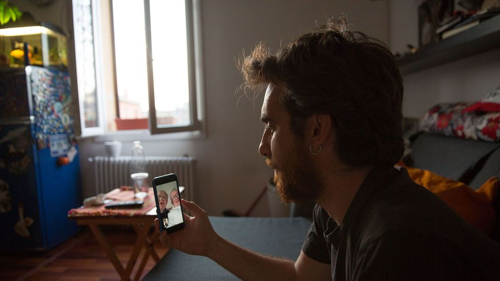 Just as video calls for work have become the norm for many of us, so too have they now defined social interactions with friends and family (Credit: Getty Images)