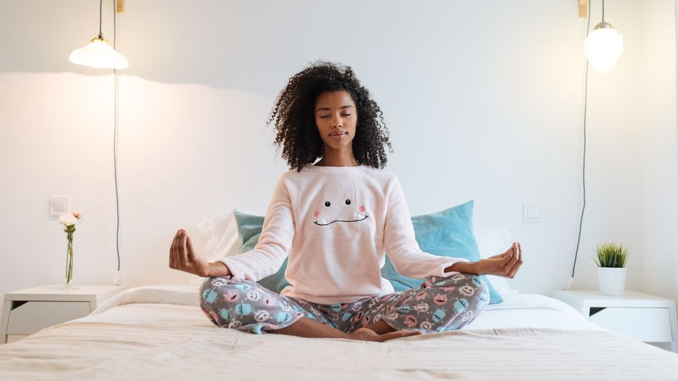 Meditation is one type of mindfulness practice that can help improve mental health. (Credit: Getty Images)