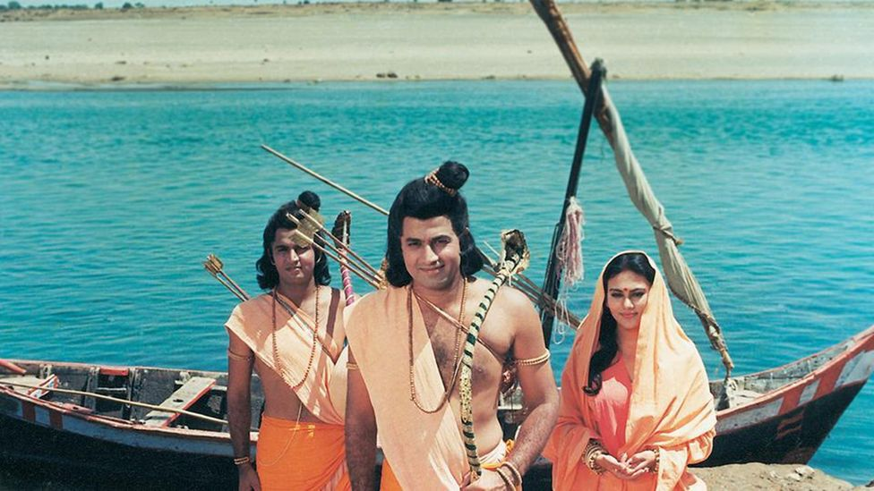 Initially meant to run for 52 episodes, The Ramayan was extended to 78 due to popular demand (Credit: Doordashan National)