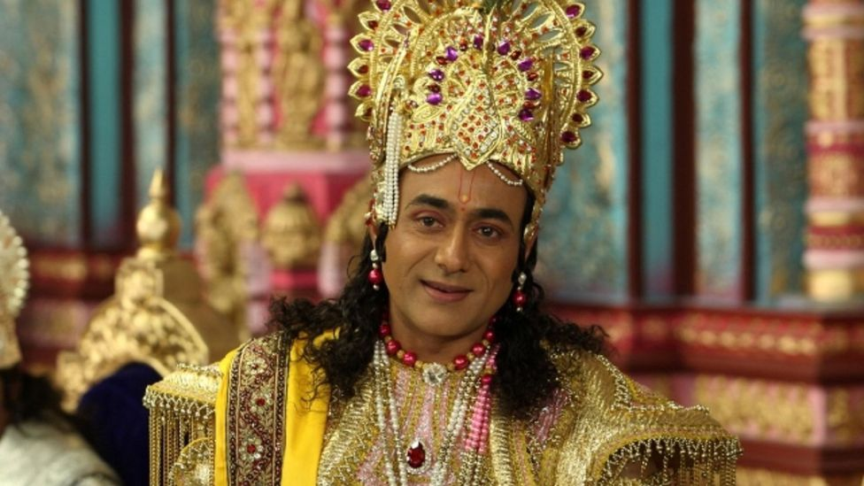 Taken from the Sanskrit epic Mahābhārata, the TV series Mahabharat originally aired from 1988 to 1990 and has recently been shown again on national TV