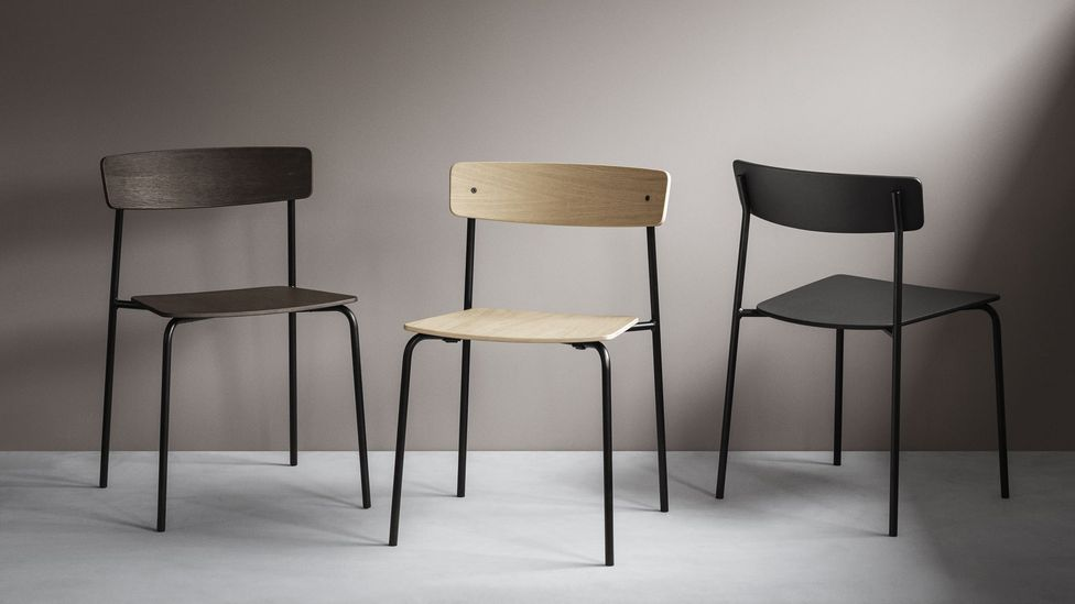 The Cross Chair was designed by PearsonLloyd for Takt, and is based on a simple, stable structure