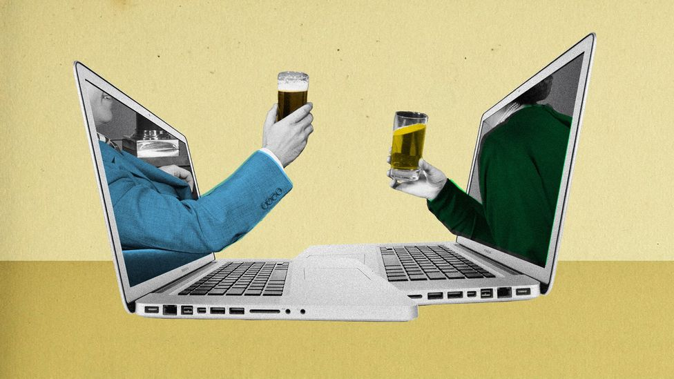 Are we drinking too much to help us cope while in lockdown during the coronavirus pandemic? (Credit: Getty Images/Alamy/Javier Hirschfeld)