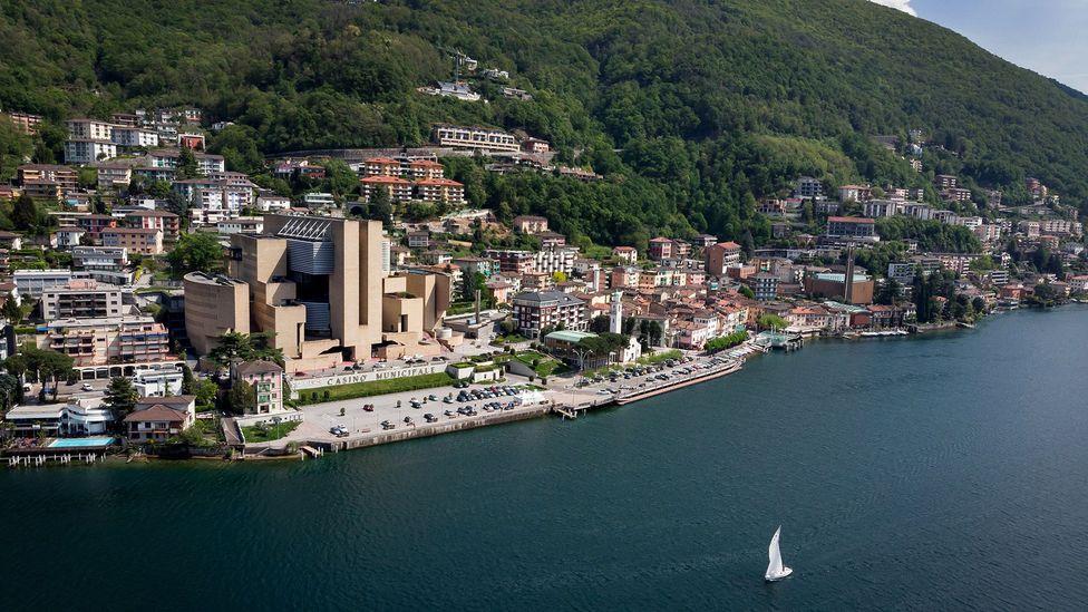 The village of Campione d'Italia has a prime location on Lake Lugano (Credit: Fabrice Coffrini/Getty images)