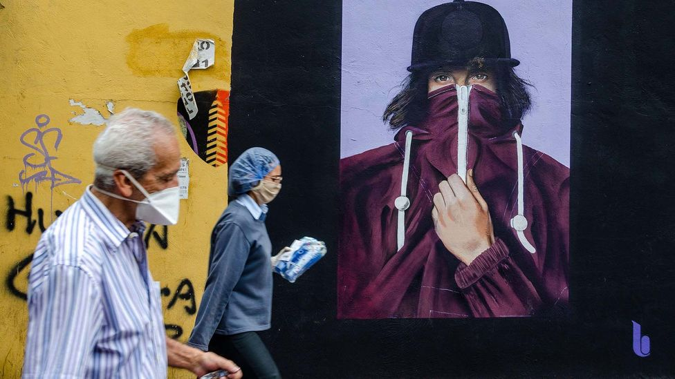 The global pandemic has seen dystopian narratives appeal to people like never before (credit: Alamy)