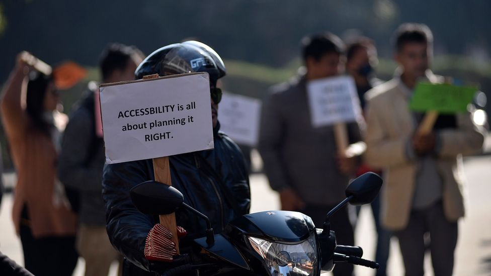 In order to become more accessible, experts say, society must integrate more voices of disabled people (Credit: Getty Images)