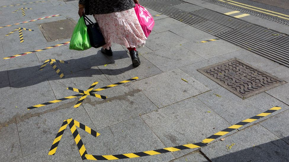 Wider pavements help social distancing; they've also been requested for years by people with disabilities (Credit: Getty Images)