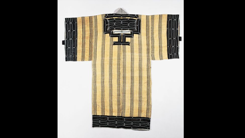 Traditional Ainu clothing was made with animal or fish skin, or woven with tree bark or nettle fibres (Credit: DeAgostini/Getty Images)
