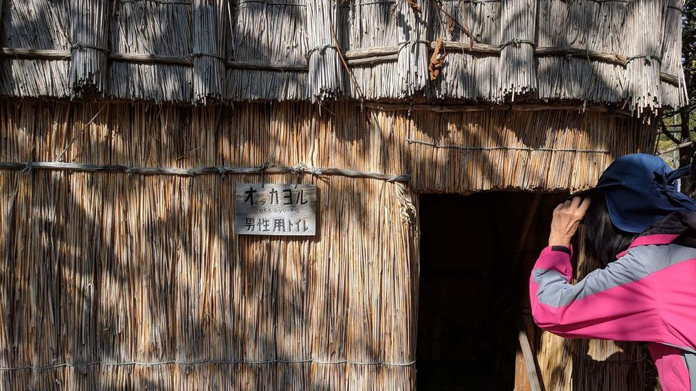 Visitors can come to the Sapporo Pirka Kotan to experience Ainu handicrafts, watch traditional dancing and imagine traditional Ainu life (Credit: Ellie Cobb)