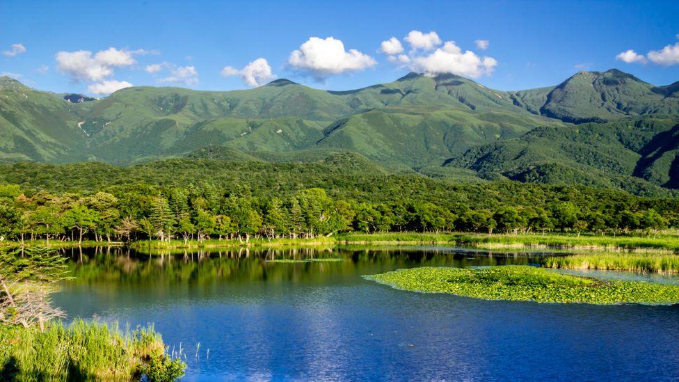 Shiretoko National Park in Hokkaido was a traditional Ainu hunting and fishing area (Credit: Azuki25/Getty Images)