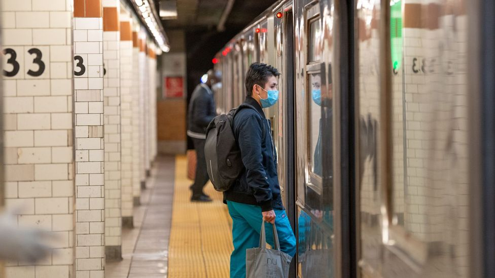 The daily commute inspires resilience, a feeling of accomplishment that's more difficult to achieve when stuck at home (Credit: Getty Images)