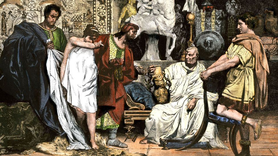 The Romans viewed slaves and upper-class women with suspicion (Credit: Alamy)