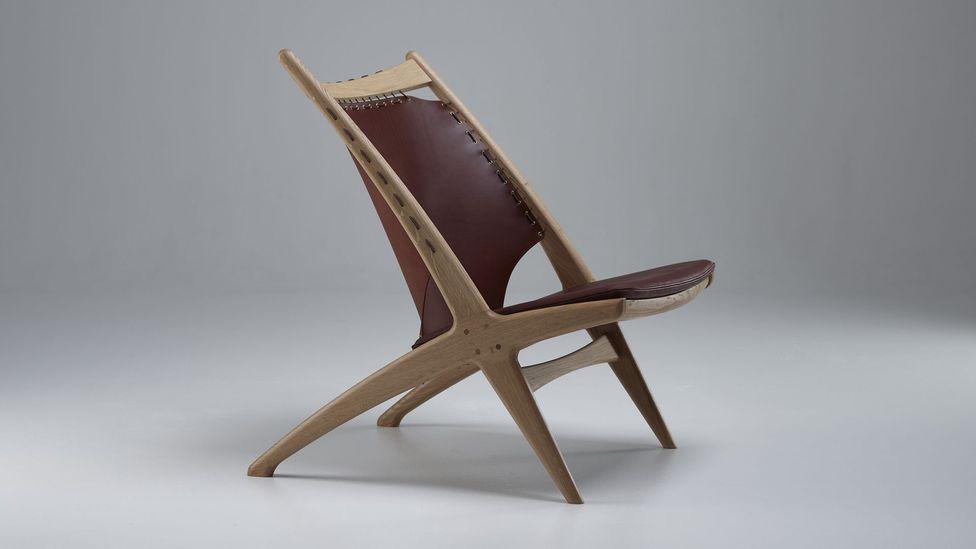 The Krysset lounge chair by Eikund is a Norwegian mid-century classic, designed in 1955 (Credit: Eikund)