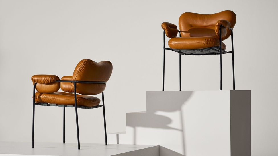 Engesvik's chairs for Fogia have a quirky distinctiveness (Credit: Fogia)