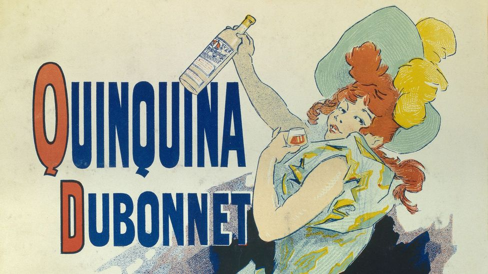Just as the British drank gin and tonic to avoid malaria in their colonies, French troops in North Africa sipped quinine-rich Dubonnet (Credit: Christophel Fine Art)