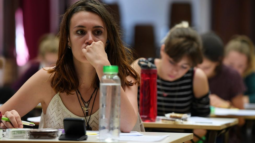 A 2013 study showed that the students rated humblest achieved better grades than those who were considered to have more inflated opinions of themselves (Credit: Getty Images)