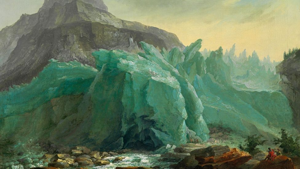 The Grindelwald Glacier, 1774