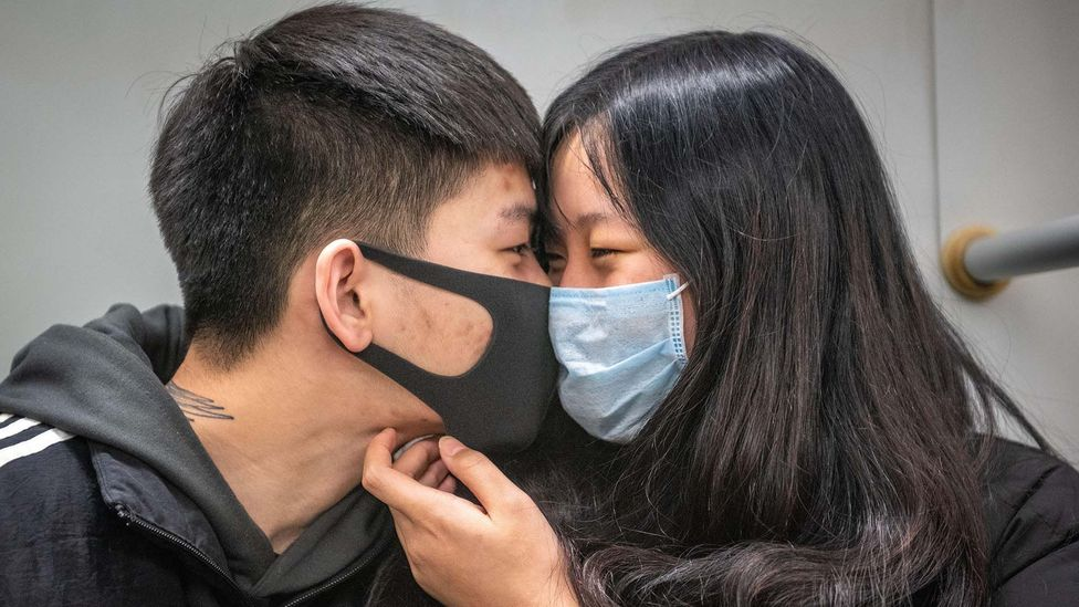 In the wake of the Sars virus in Hong Kong, a study found that people were more focused on the emotions of their family and friends (Credit: Edwin Remsberg/Alamy Stock Photo