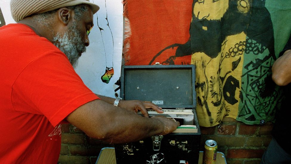 Old-school sound systems like Channel One (here pictured at the 2019 Notting Hill Carnival) continue to fly the flag for dub worldwide (Credit: Eddie Otchere)