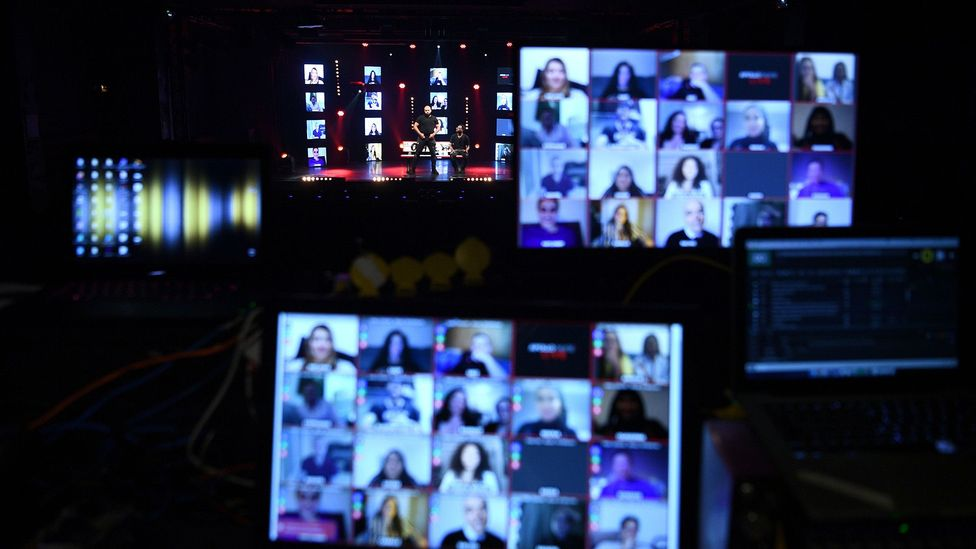 Virtual teamwork seems to blunt the more extreme personality traits – this may be because working remotely requires more collaboration and compromise (Credit: Getty Images)