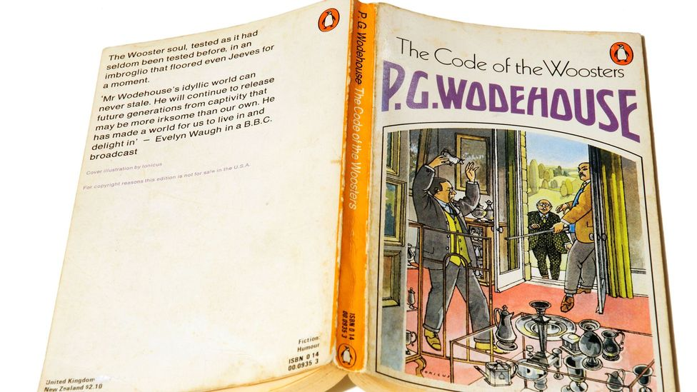 There were 96 Wodehouse books published in his lifetime, with his Jeeves and Wooster novels remaining his most celebrated legacy (Credit: Alamy)