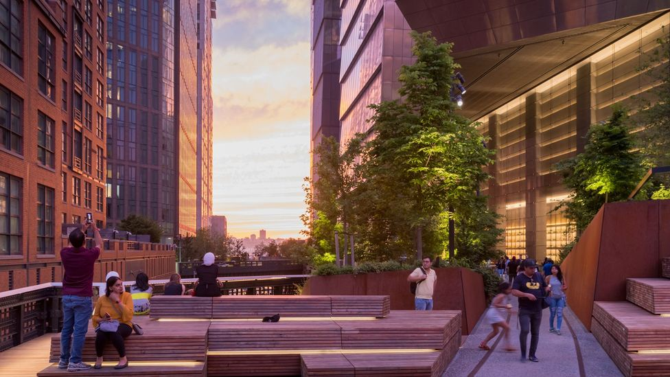 The High Line successfully blends nature and architecture (Credit: Iwan Baan)