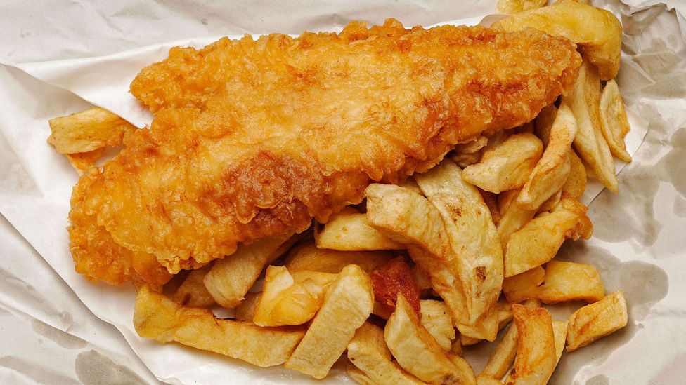Right now, there's no vegan alternative that accurately mimics fish and chips – but some are hoping to change that (Credit: Alamy)