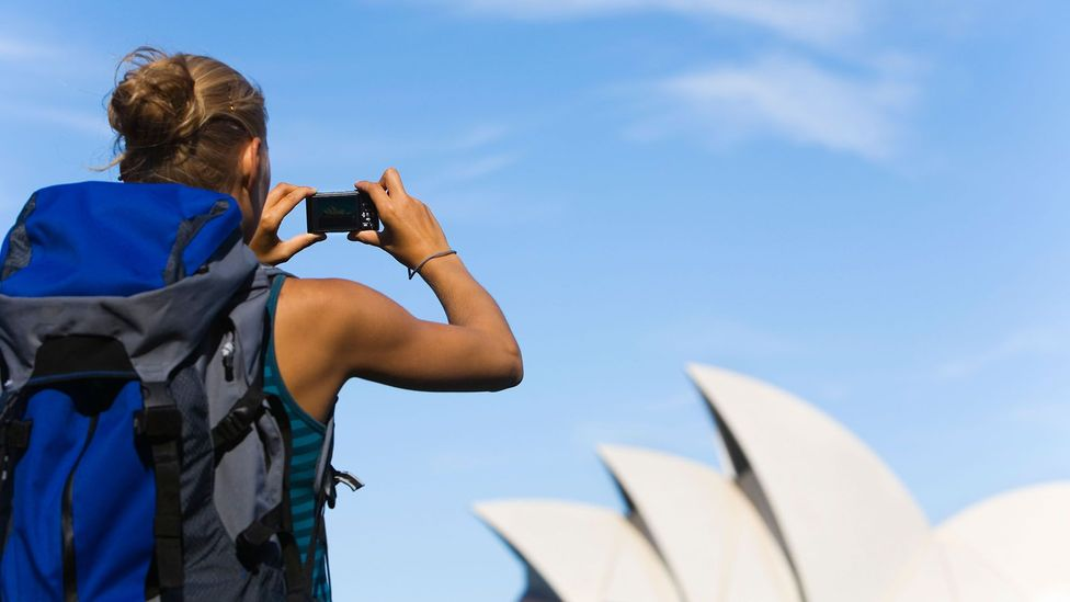A 'gap year' usually involves students taking a year off before university for traveling or other purposes, if they have the means to do so (Credit: Alamy)