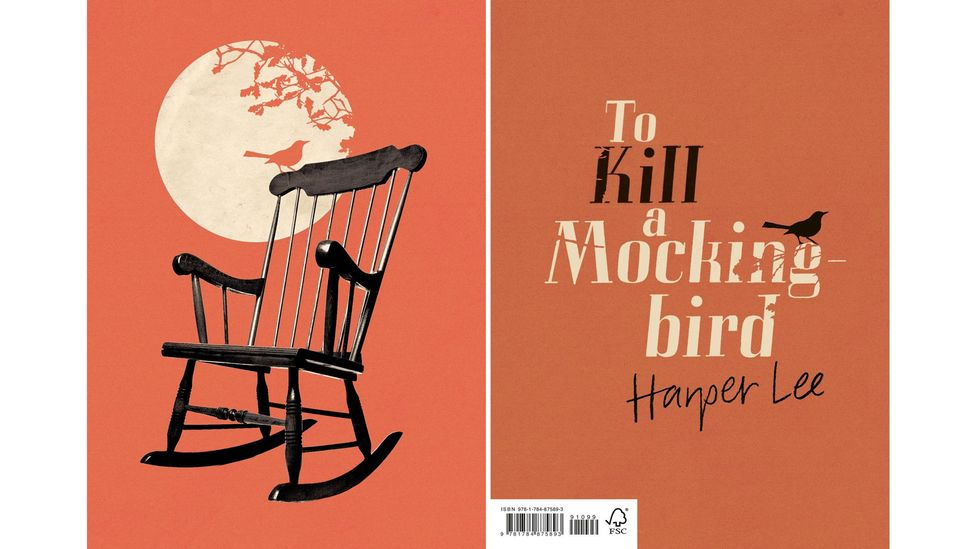 Vintage, 30. yılını Most Red adlı bir dizi ile kutluyor;  yeni kapakları olan başlıklar arasında Harper Lee'nin 1960 klasiği To Kill a Mockingbird (Kredi: Vintage)