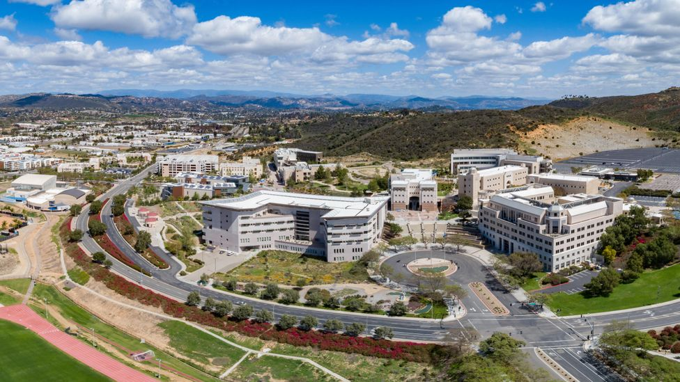 California State University in San Marcos. The entire California State system of 23 schools has announced it will be digital-only for the autumn 2020 term (Credit: Alamy)