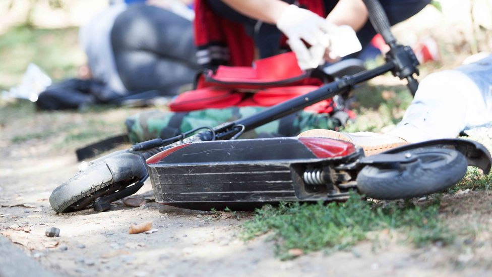 As e-scooters have risen in popularity, there have been concerns about their safety to both riders, pedestrians and others (Credit: Getty Images)