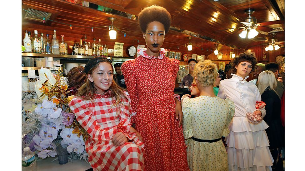 Designer Batsheva Hay's spring/ summer 2019 collection is inspired by a sense of history (Credit: Getty Images)