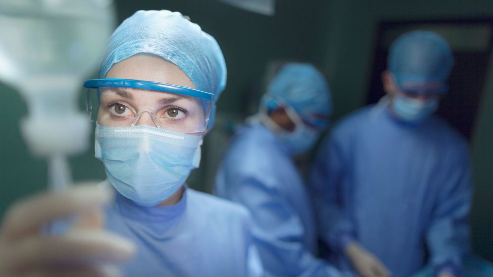 Nurse in mask (Credit: Getty Images)