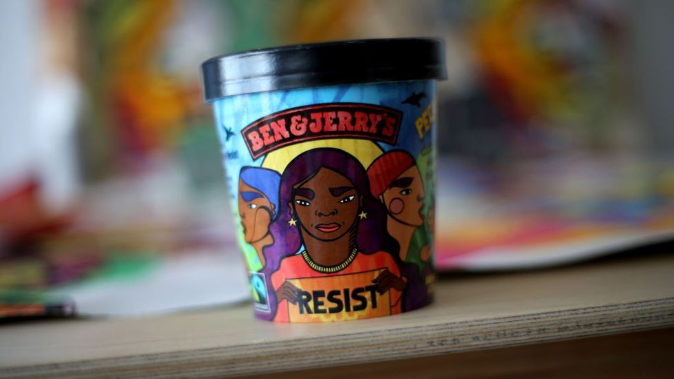 Ice-cream brand Ben & Jerry's has a long history of brand activism (Credit: Getty Images)