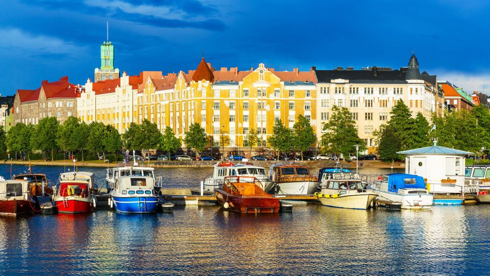 """In Reader's Digest's """"Lost Wallet Test"""", Helsinki was the most honest city of those tested (Credit: Scanrail/Getty Images)"""