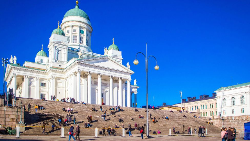 Helsinki's Lutheran Cathedral is an enduring symbol of the country's Protestant roots (Credit: Larisa Shpineva/Getty Images)
