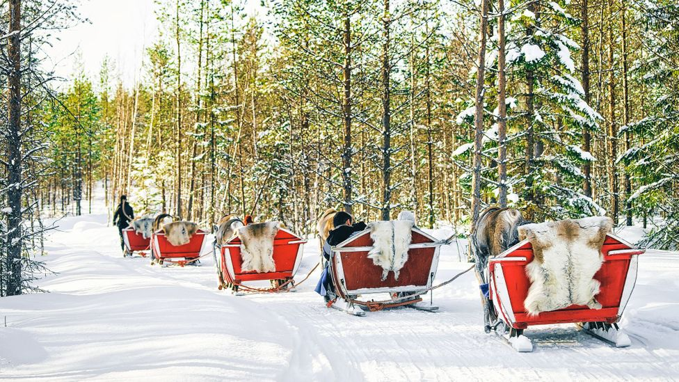 While most of the nation's population is mostly based in the south, Lapland, Finland's northernmost region, remains sparsely populated (Credit: RomanBabakin/Getty Images)