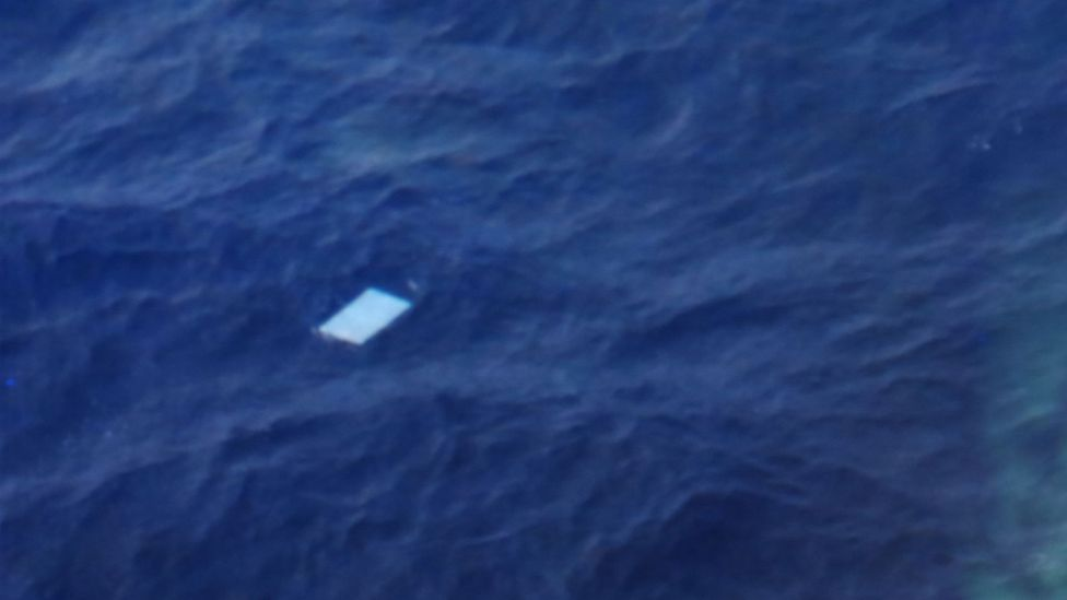 The search for the remains of the missing Malaysian airlines flight MH370 saw volunteers scour millions of photographs for signs of debris (Credit: Pool Still)