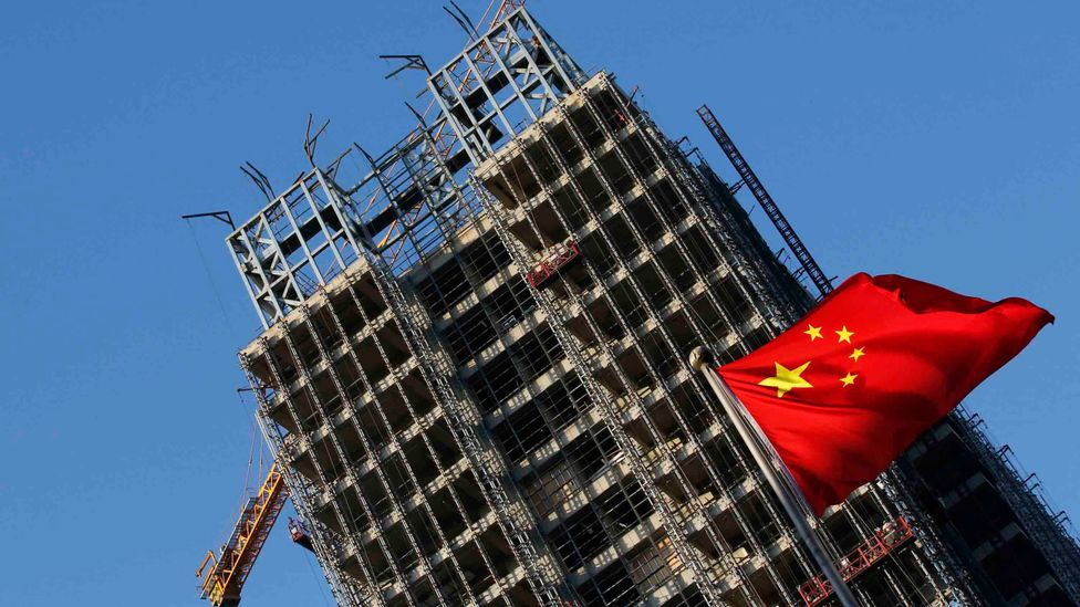 China is building around two billion square metres of new floorspace every year (Credit: Reuters)