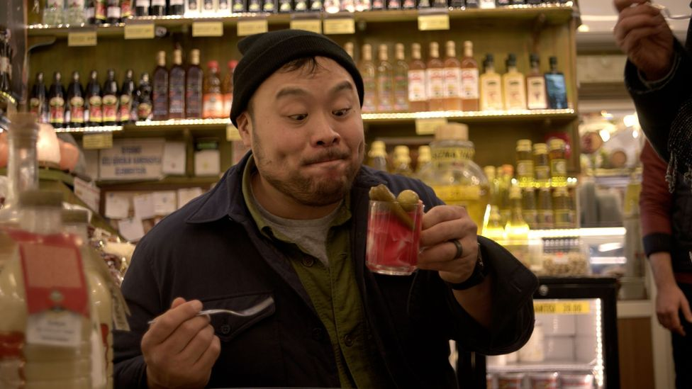 Chef David Chang's series Ugly Delicious is an enlightening and often heart-warming watch - but never takes food too seriously (Credit: Netflix)