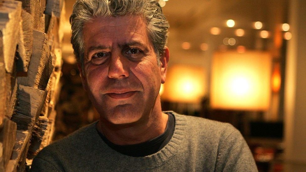 Anthony Bourdain mixed a sometimes curmudgeonly front with a passionate investment in other cultures, other humans, their lives and their food (Credit: Alamy)