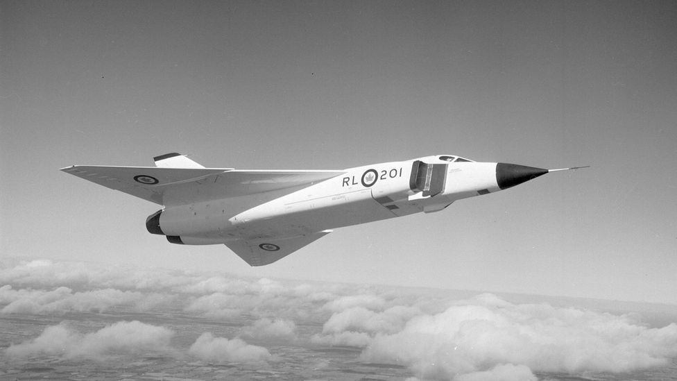 Avro CF-105 Arrow (Credit: Avro Canada/Canada Aviation and Space Museum)