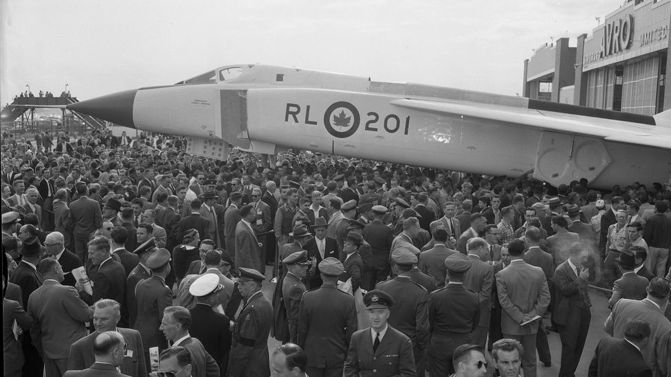 The aircraft became a source of national pride for many Canadians (Credit: Avro Canada/Canada Aviation and Space Museum)