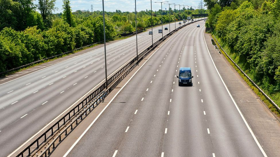 Traffic is one of the major sources of sound pollution in our daily lives, but the pandemic has led to fewer cars on the road in many parts of the world (Credit: Alamy)