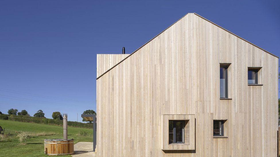 Tate Harmer's rural homes have a pared back, utilitarian sensibility (Credit: Kilian O'Sullivan)