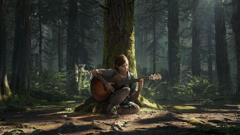 Computer game The Last of Us Part 2 continues the story of two people battling for survival in a verdant post-apocalyptic world (Credit: Sony)