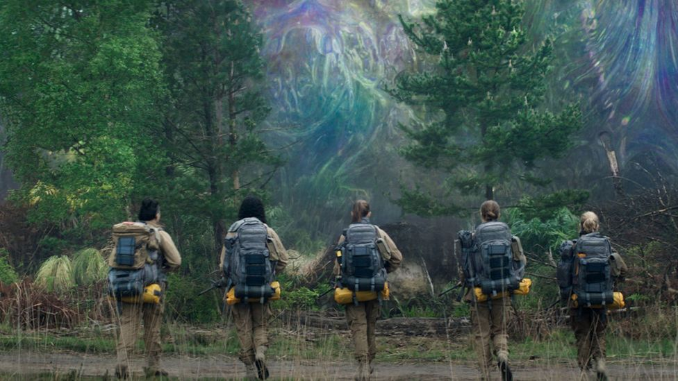 The 2018 science fiction thriller Annihilation imagined a mysterious, mutating natural environment threatening to consume the entire planet (Credit: Alamy)