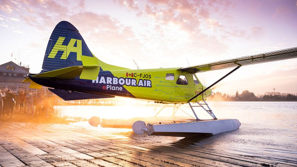 The world's first fully electric commercial seaplane took flight in December 2019 (Credit: MagniX)