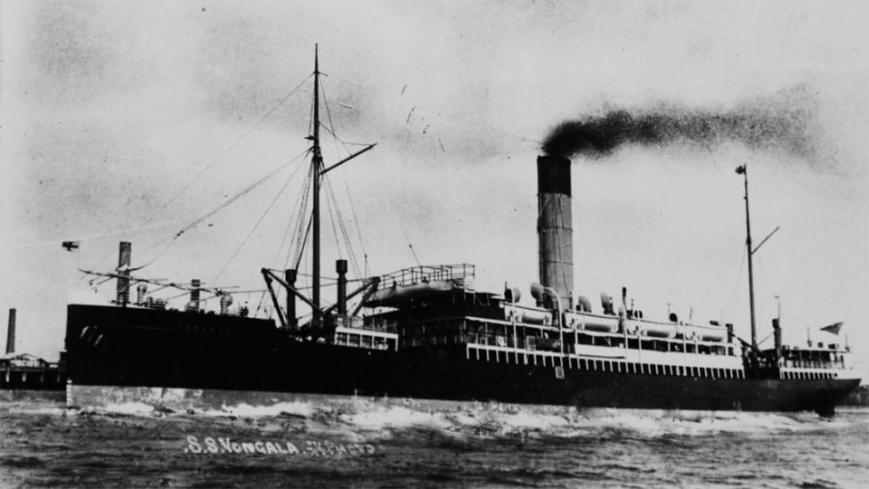 One year before the Titanic sank, Australia's SS Yongala hit a cyclone and ran aground off the coast of Townsville, killing everyone on board (Credit: State Library of Victoria)